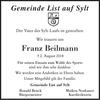 Franz Beilmann