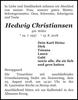Hedwig Christiansen