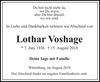 Lothar Voshage