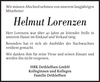 Helmut Lorenzen