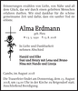 Alma Erdmann