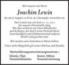 Joachim Lewin