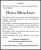 Heinz Blenckner