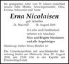 Erna Nicolaisen