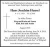Hans Joachim Hensel