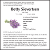 Betty Sievertsen