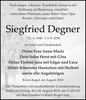 Siegfried Degner