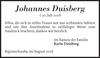 Johannes Duisberg