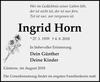 Ingrid Horn