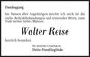 Walter Reise