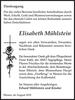 Elisabeth Mühlstein