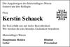 Kerstin Schaack