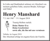 Henry Manshard