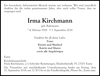 Irma Kirchmann
