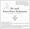 Dr. med. Ernst-Peter Tiedemann