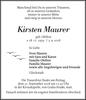 Kirsten Maurer