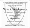 Hans Gorschewsky