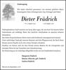 Dieter Frädrich