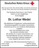 Dr. Lothar Wedel