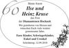 Ilse und Heinz Kruse