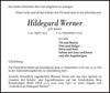 Hildegard Werner