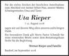 Uta Rieper