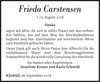 Frieda Carstensen