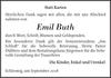 Emil Buth