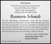 Rosmarie Schmidt