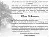 Klaus Pickmann