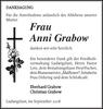 Frau Anni Grabow
