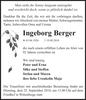 Ingeborg Berger