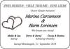 Marina Carstensen und Harm Lorenzen