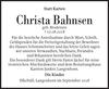 Christa Bahnsen