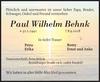 Paul Wilhelm Behnk
