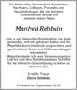 Manfred Rehbein
