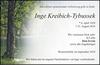 Inge Kreibich-Tybussek