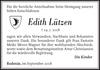Edith Lützen