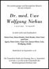 Dr. med. Uwe Wolfgang Niehus