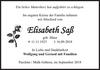 Elisabeth Saß