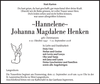 Hannelene Johanna Magdalene Henken