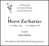 Horst Zacharias