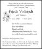 Frieda Vollstedt