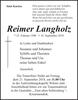 Reimer Langholz