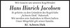 Hans Hinrich Jacobsen