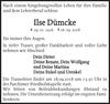 Ilse Dümcke