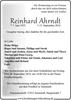 Reinhard Ahr d