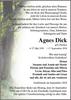 Agnes Dick