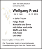 Wolfgang Frost