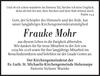 Frauke Mohr